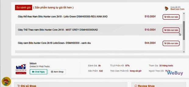 """Dùng thử """"trợ lý mua sắm"""" BeeCost: So sánh giá sản phẩm giữa các sàn TMĐT, tự tìm mã giảm giá - Ảnh 9."""