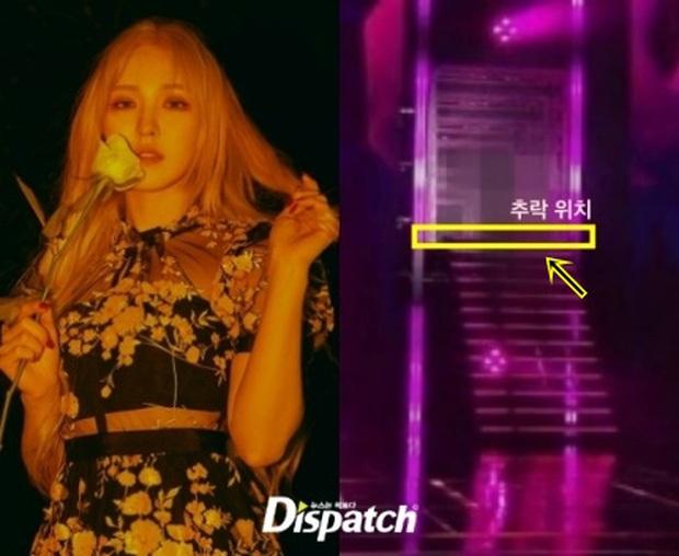 Tiết lộ hiện trường tai nạn của Wendy (Red Velvet): Ngã từ độ cao 2,5 mét, chấn thương nặng đến nỗi không thể chẩn đoán chính xác - Ảnh 3.