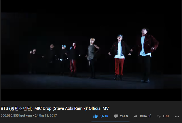 Sau sân khấu Giáng sinh ấn tượng của BTS, ARMY tặng quà lại giúp thần tượng giật ngôi vương BLACKPINK trên YouTube - Ảnh 1.