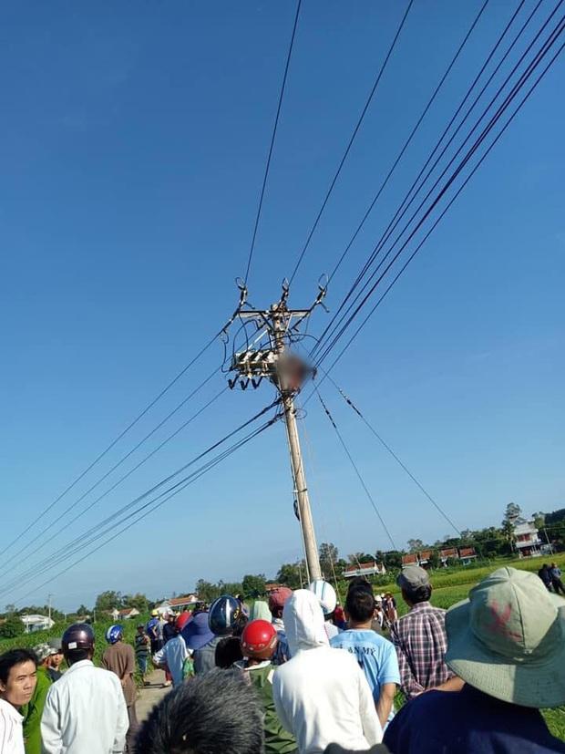 Phú Yên: Sửa chữa đường dây điện cao áp, một công nhân bị điện giật tử vong - Ảnh 2.