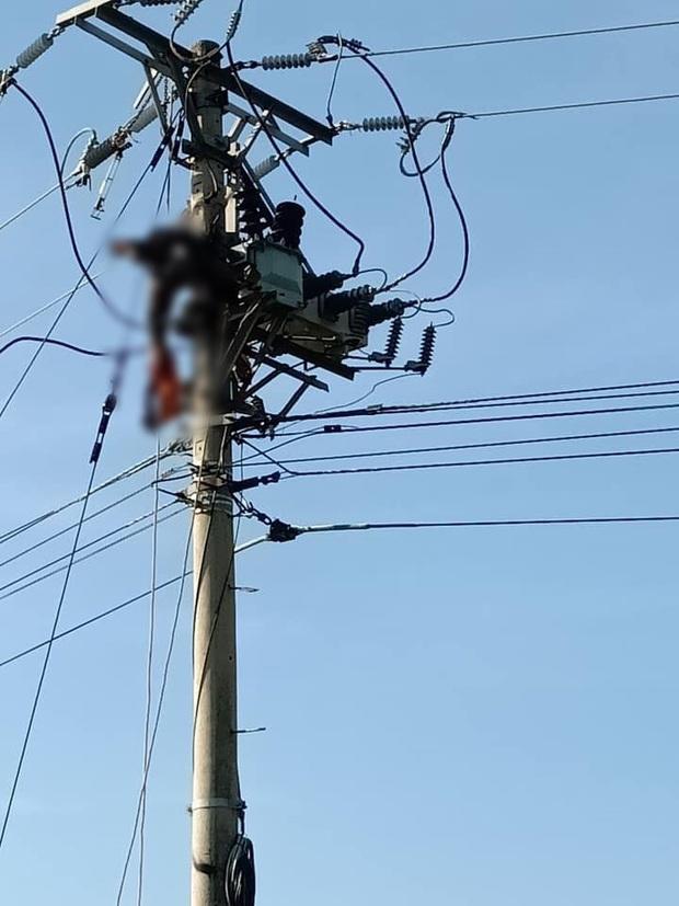 Phú Yên: Sửa chữa đường dây điện cao áp, một công nhân bị điện giật tử vong - Ảnh 1.