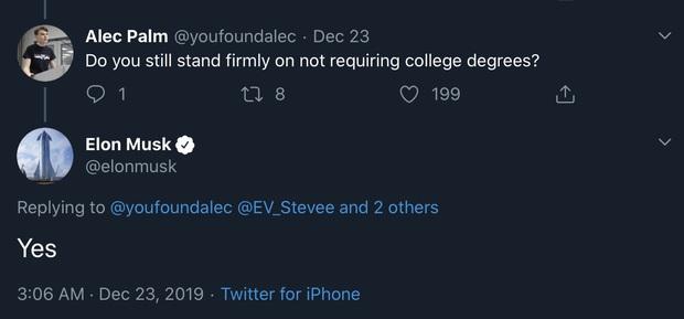 Thêm một tỷ phú công nghệ nói bằng đại học là không cần thiết, nhất quyết không đổi ý sau nửa thập kỷ - Ảnh 1.