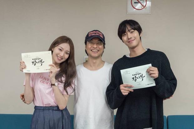 Hết Vị Khách Vip không sợ đói drama, Tiên Nữ Cử Tạ Lee Sung Kyung sắp se duyên với hot boy ăn bún bò Ahn Hyo Seop rồi nè - Ảnh 2.