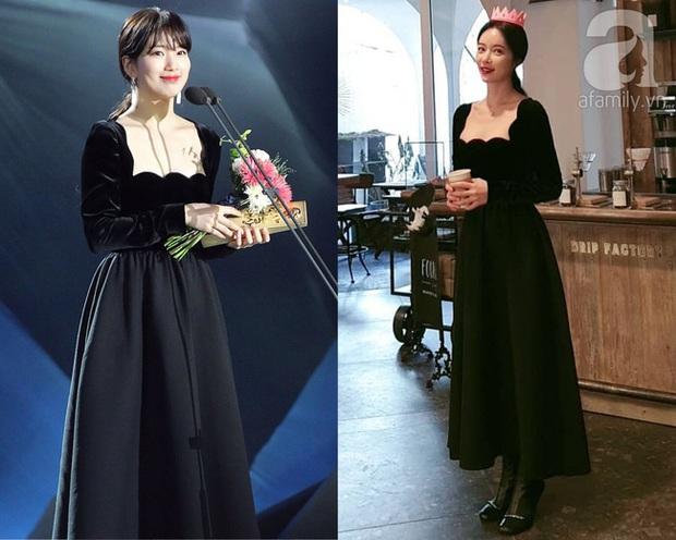 Đụng váy với Hwang Jung Eum: Suzy đẹp nhưng độ quý phái và nóng bỏng vẫn chưa là gì so với bà mẹ bỉm sữa  - Ảnh 12.