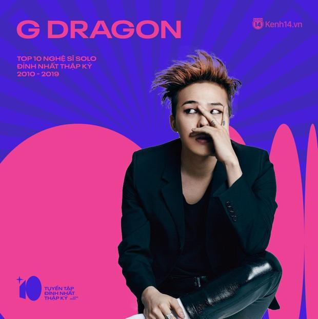 G-Dragon và IU vượt PSY, dẫn đầu danh sách nghệ sĩ solo Kpop thành công nhất thập kỷ này! - Ảnh 19.