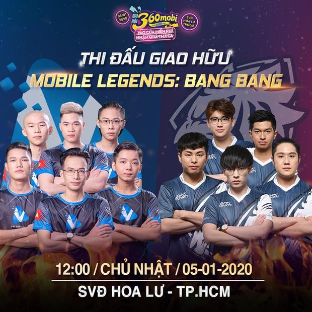 Đại hội 360mobi 2020: Bùng nổ Showmatch giữa đội tuyển quốc gia Mobile Legends: Bang Bang Việt Nam cùng bạn bè quốc tế - Ảnh 2.