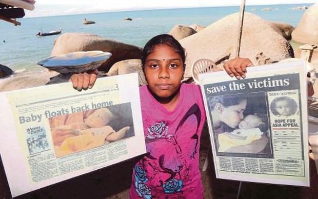 Đứa trẻ thần kỳ của thảm họa Ấn Độ Dương cách đây 15 năm, sống sót kỳ diệu sau khi bị sóng thần cuốn trôi khi mới 22 ngày tuổi - Ảnh 1.