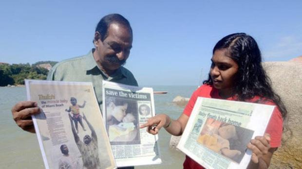 Đứa trẻ thần kỳ của thảm họa Ấn Độ Dương cách đây 15 năm, sống sót kỳ diệu sau khi bị sóng thần cuốn trôi khi mới 22 ngày tuổi - Ảnh 2.