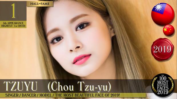 Tranh cãi BXH 100 gương mặt đẹp nhất thế giới 2019: Nữ thần Tzuyu vượt Lisa vươn lên No.1, dàn nữ thần dạt hết về cuối - Ảnh 3.