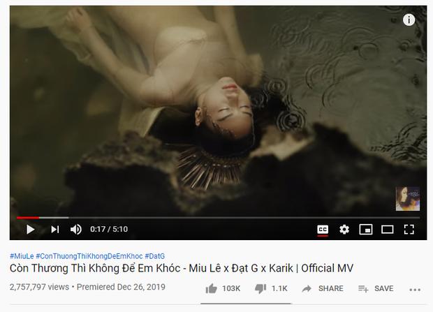 Miu Lê ra 2 MV liên tiếp bị Youtube Trending bỏ quên, Jack vướng sóng gió vẫn thống trị - Ảnh 7.