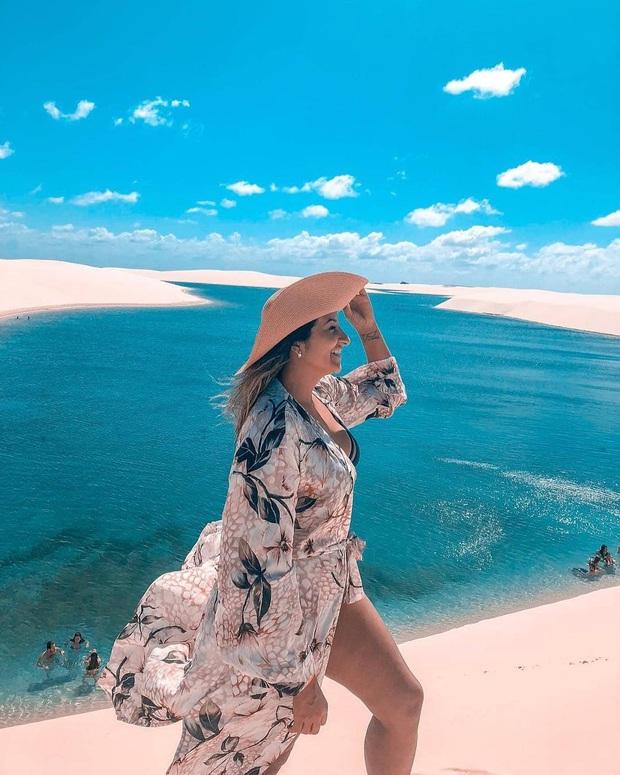 """Dân mạng xôn xao trước loạt ảnh """"tắm biển giữa sa mạc"""" đang gây sốt khắp Brazil, khi tìm ra danh tính của địa điểm mới tá hoả! - Ảnh 7."""