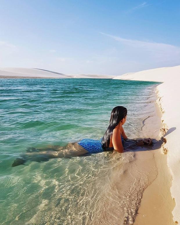 """Dân mạng xôn xao trước loạt ảnh """"tắm biển giữa sa mạc"""" đang gây sốt khắp Brazil, khi tìm ra danh tính của địa điểm mới tá hoả! - Ảnh 26."""