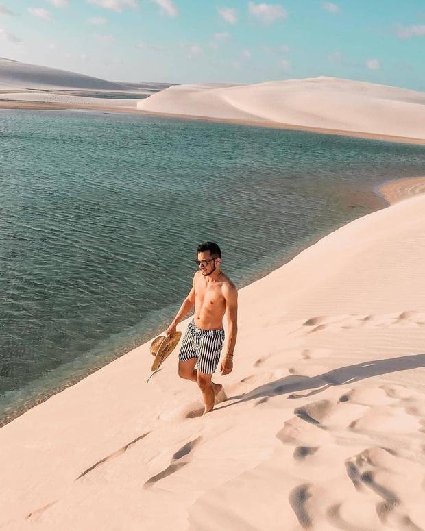 """Dân mạng xôn xao trước loạt ảnh """"tắm biển giữa sa mạc"""" đang gây sốt khắp Brazil, khi tìm ra danh tính của địa điểm mới tá hoả! - Ảnh 17."""