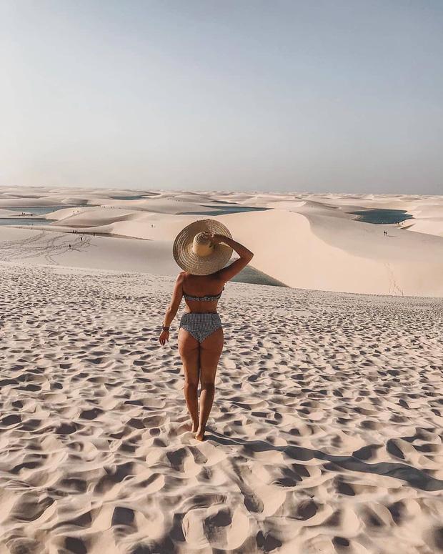 """Dân mạng xôn xao trước loạt ảnh """"tắm biển giữa sa mạc"""" đang gây sốt khắp Brazil, khi tìm ra danh tính của địa điểm mới tá hoả! - Ảnh 13."""