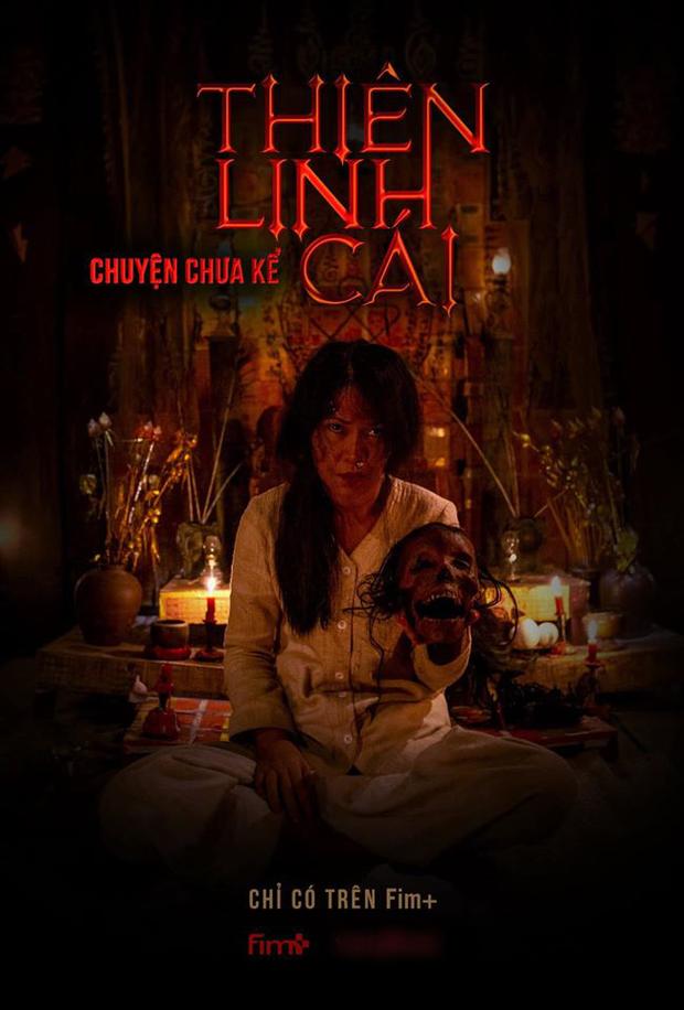 Thiên Linh Cái hồi sinh dưới dạng web drama, poster cầm đầu lâu đáng sợ hơn cả bản chiếu rạp? - Ảnh 3.
