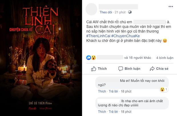 Thiên Linh Cái hồi sinh dưới dạng web drama, poster cầm đầu lâu đáng sợ hơn cả bản chiếu rạp? - Ảnh 2.