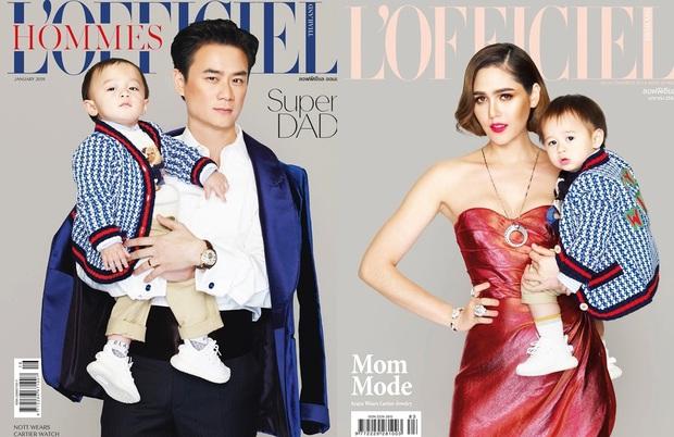 Dàn nhóc tỳ cực phẩm nhà sao Thái: Toàn rich kid, hết lên tạp chí hàng đầu lại đến cover hit BLACKPINK cực chất - Ảnh 4.
