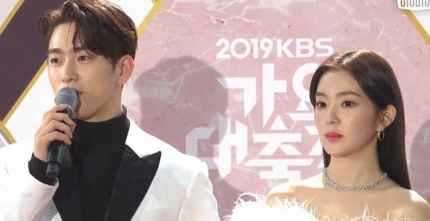 Irene (Red Velvet) chiếm trọn spotlight ở KBS Gayo Daechukje: Gây sốt khi kết hợp cùng Nayeon (TWICE), đẹp tới nỗi loạt sao nam đều phải ngoái nhìn! - Ảnh 5.