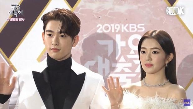 Bữa tiệc đọ visual trong 1 khung hình ở KBS Gayo 2019: BTS - TWICE lép vế vì một cặp đôi tiềm năng mới Kpop? - Ảnh 1.
