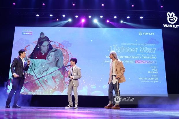 Nguyễn Trần Trung Quân hát nhạc Sơn Tùng, bất ngờ tung teaser Canh Ba hé lộ cảnh kết hôn với Denis Đặng trong fanmeeting tại TP.HCM - Ảnh 5.