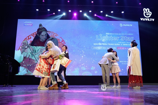 Nguyễn Trần Trung Quân hát nhạc Sơn Tùng, bất ngờ tung teaser Canh Ba hé lộ cảnh kết hôn với Denis Đặng trong fanmeeting tại TP.HCM - Ảnh 7.