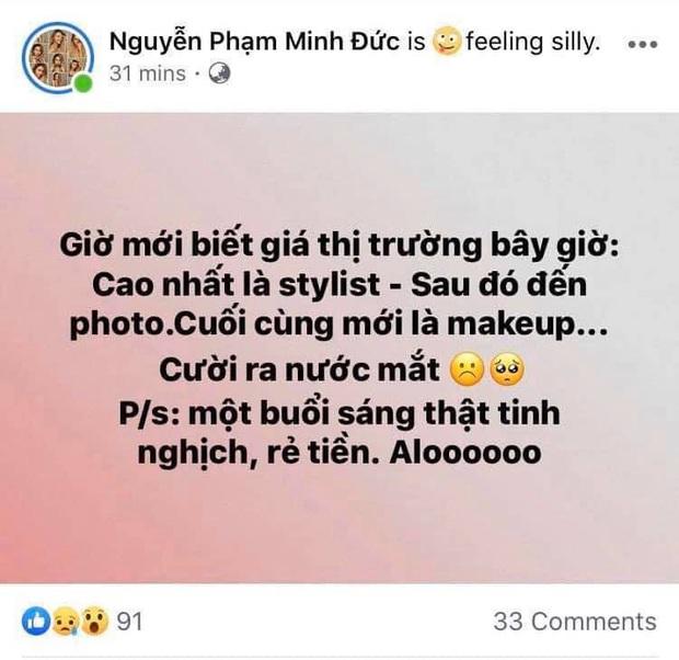 Drama chốt sổ làng mốt Việt 2019: học trò Thanh Hằng bị phản ứng dữ dội sau lời than thù lao làm makeup ít hơn hẳn photo, stylist - Ảnh 2.