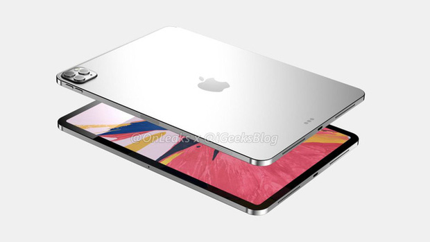 Lộ ảnh thiết kế iPad Pro 2020: Dự kiến có cụm 3 camera y hệt iPhone 11 Pro - Ảnh 1.