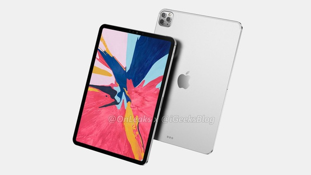Lộ ảnh thiết kế iPad Pro 2020: Dự kiến có cụm 3 camera y hệt iPhone 11 Pro - Ảnh 2.