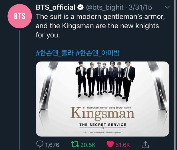 Cha đẻ Kingsman bất ngờ khen BTS không ngớt, cộng đồng fan được phen nở bung mũi - Ảnh 13.