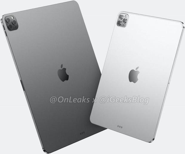 Lộ ảnh thiết kế iPad Pro 2020: Dự kiến có cụm 3 camera y hệt iPhone 11 Pro - Ảnh 3.
