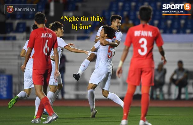 Loạt ảnh chế đội tuyển Việt Nam nở rộ sau trận gặp Singapore: Quang Hải, Chinh Đen cùng loạt biểu cảm không thể nào đắt giá hơn! - Ảnh 3.