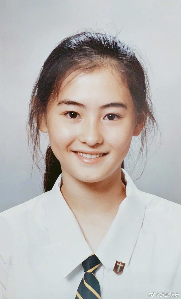 Ảnh thẻ thời học sinh của Trương Bá Chi gây choáng: Gương mặt sắc sảo, bảo sao là tường thành nhan sắc Hong Kong - Ảnh 1.