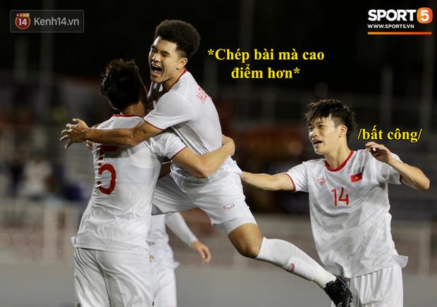 Loạt ảnh chế đội tuyển Việt Nam nở rộ sau trận gặp Singapore: Quang Hải, Chinh Đen cùng loạt biểu cảm không thể nào đắt giá hơn! - Ảnh 13.