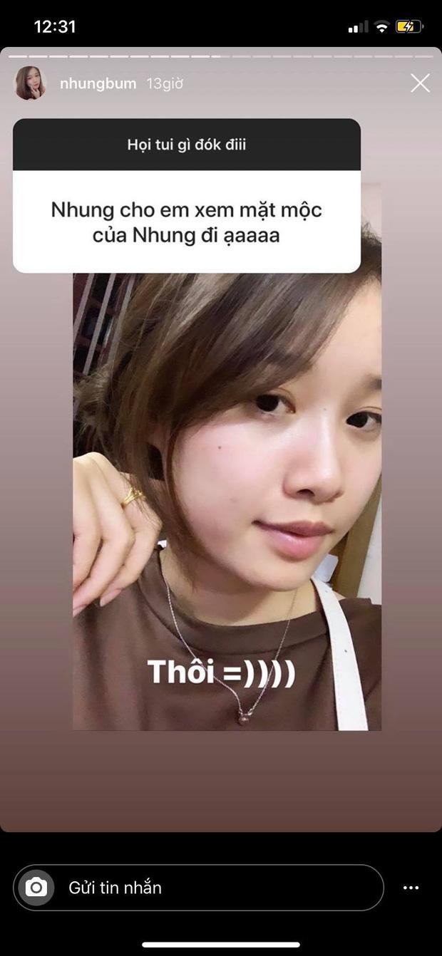 Bạn gái Văn Toàn lần đầu khoe mặt mộc, so với ảnh selfie sống ảo thì chấm mấy điểm đây nè? - Ảnh 1.