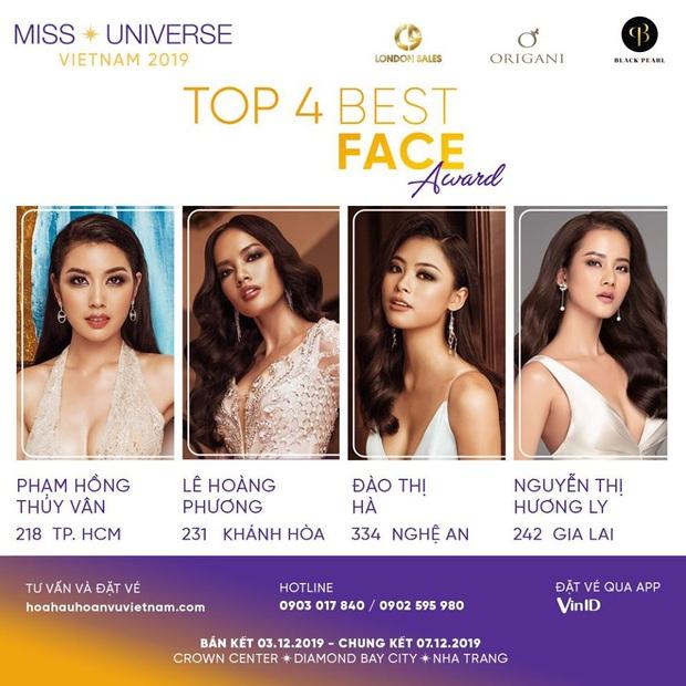 Chính thức công bố Top 4 gương mặt sáng giá nhất Hoa hậu Hoàn vũ Việt Nam 2019 ngay trước thềm bán kết - Ảnh 1.