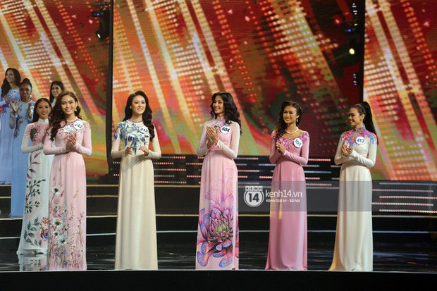Áo dài các thí sinh tại HHHV Việt Nam 2019: Nhìn như trang phục dự thi Hoa khôi Đại học - Ảnh 5.
