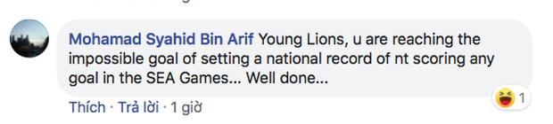 Fan Singapore thi nhau nói kháy trên page của Liên đoàn bóng đá dù đội nhà cầm hòa Việt Nam hơn 80 phút: Trận cuối thắng Brunei 1-0 rồi chúng ta ăn mừng như vô địch World Cup nhé - Ảnh 9.