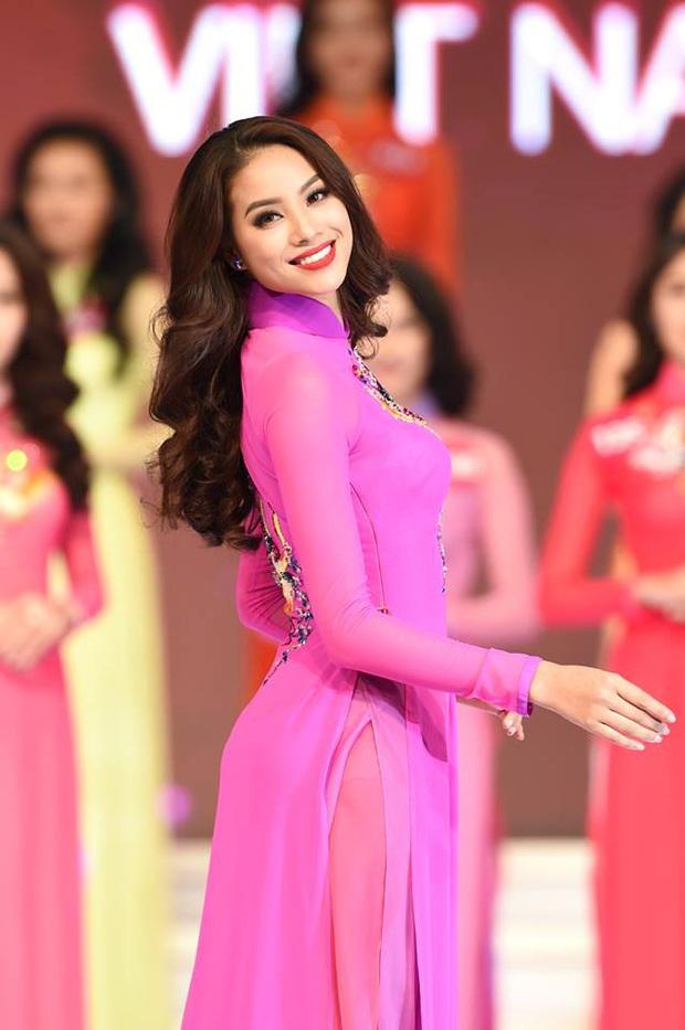 Áo dài các thí sinh tại HHHV Việt Nam 2019: Nhìn như trang phục dự thi Hoa khôi Đại học - Ảnh 8.