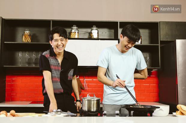 Quốc Trường vừa nấu ăn vừa hồn nhiên đòi cưới Bảo Thanh lẫn Bảo Anh khiến MC cũng té ngửa - Ảnh 6.