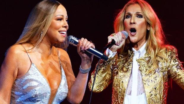 Khi Diva đấu Diva: Siêu phẩm Giáng sinh của Mariah Carey đến hẹn vẫn trồi lên còn Celine Dion sở hữu album… rớt hạng thảm hại nhất lịch sử - Ảnh 1.