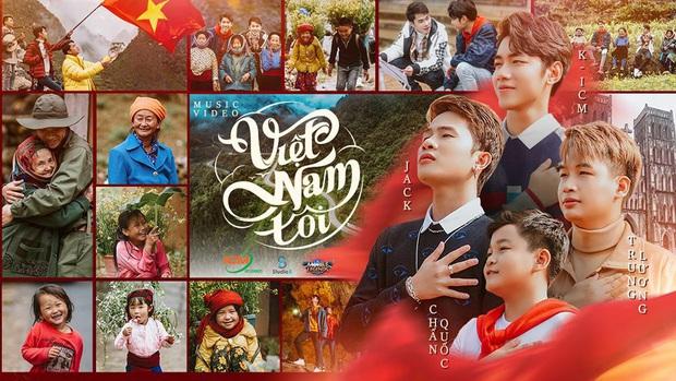 Cuộc chiến MV nhạc game, Việt Nam Tôi của Jack và K-ICM đại thắng Chi Pu, Binz, Phương Ly - Ảnh 1.