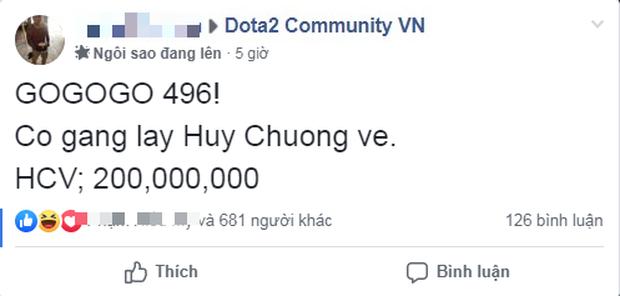 DOTA 2: Cộng đồng treo thưởng 200 triệu nếu 496 Gaming đoạt Huy Chương Vàng SEA Games 30 - Ảnh 2.