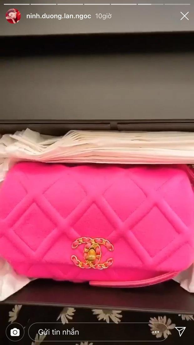 Lan Ngọc vừa đập hộp túi Chanel mới ra hơn 100 triệu, dân tình lại soi thêm cả BST đồ hiệu không hề nhỏ của Gái già lắm chiêu - Ảnh 2.