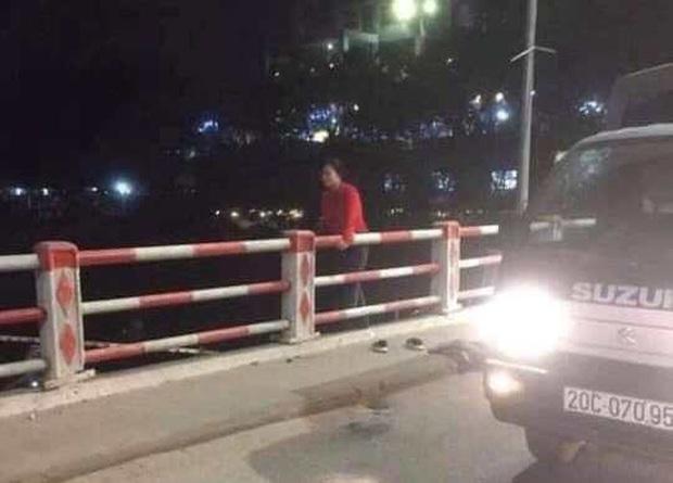 Thái Nguyên: Người phụ nữ để lại tư trang trên cầu rồi nhảy xuống sông - Ảnh 2.