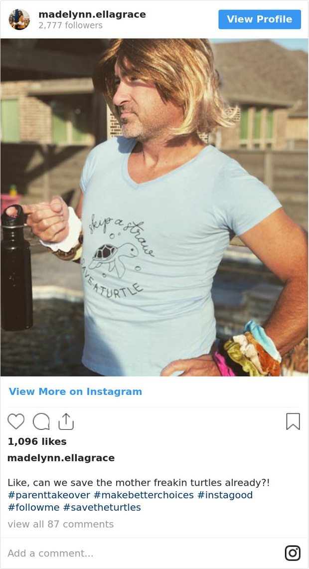Phạt con 2 tuần không dùng điện thoại, bố sợ Instagram con hẻo tương tác nên thay cô bé sống ảo và được nhiều like hơn cả chính chủ - Ảnh 2.