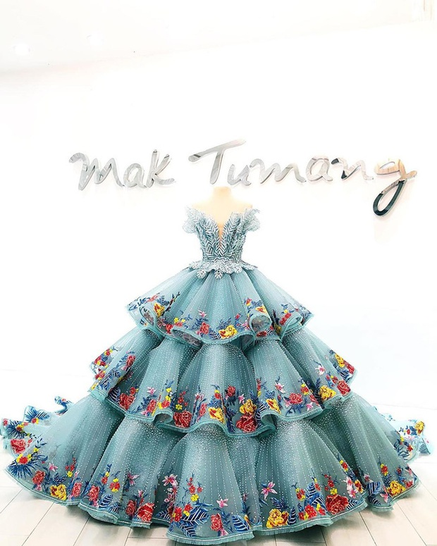 Bất ngờ với thân thế chiếc váy tại tiệc sinh nhật 18 tuổi của rich kid hàng đầu Philippines - Ảnh 6.