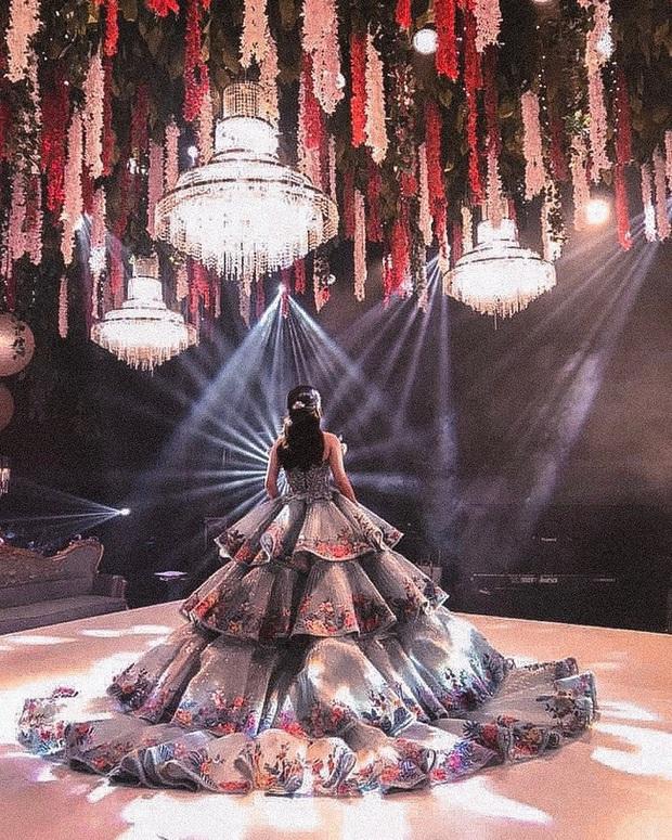Bất ngờ với thân thế chiếc váy tại tiệc sinh nhật 18 tuổi của rich kid hàng đầu Philippines - Ảnh 7.