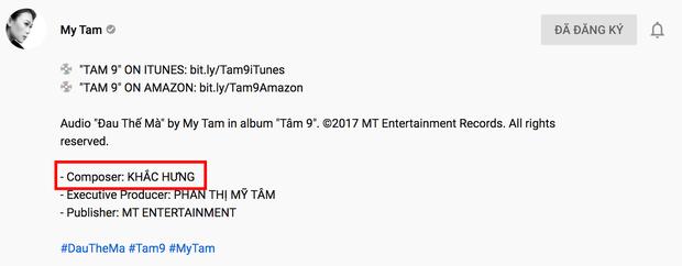Mỹ Tâm tung bản audio Đau Thế Mà kỉ niệm 2 năm ra album Tâm 9, thế mà lại để fan bắt được lỗi sai sót to đùng! - Ảnh 2.