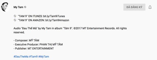 Mỹ Tâm tung bản audio Đau Thế Mà kỉ niệm 2 năm ra album Tâm 9, thế mà lại để fan bắt được lỗi sai sót to đùng! - Ảnh 6.