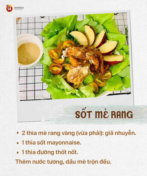 Cô gái Sài thành chia sẻ 7 công thức làm sốt salad vừa không béo, vừa giúp món rau không còn nhạt nhẽo - Ảnh 5.